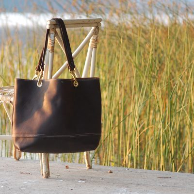 Leather Sidney Tote