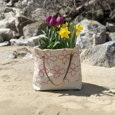 Floral Canvas Tote