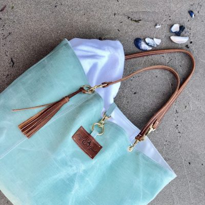 Bees Waxed Linen Tote